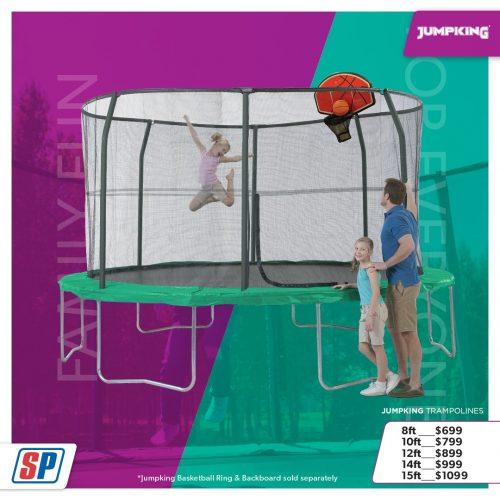 SP21 025 Family Fun Jumpking Trampolines