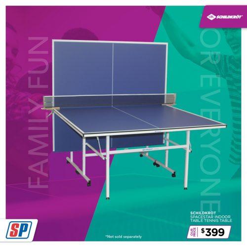 SP21 025 Family Fun Schildkrot Spacestar Indoor Table Tennis Table