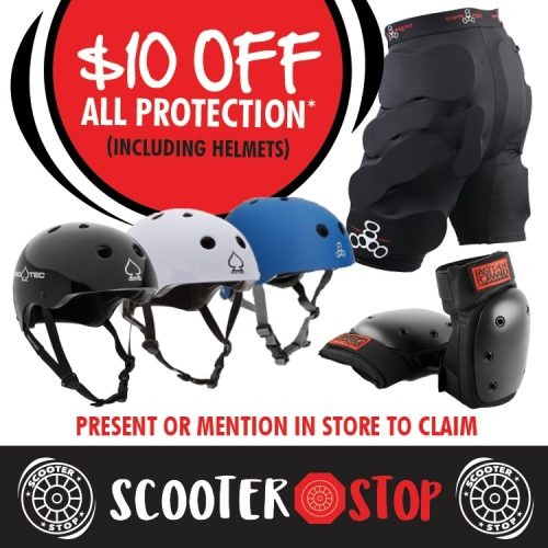 Scooter Shop Protection