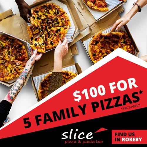 Slice 5 Pizza Deal