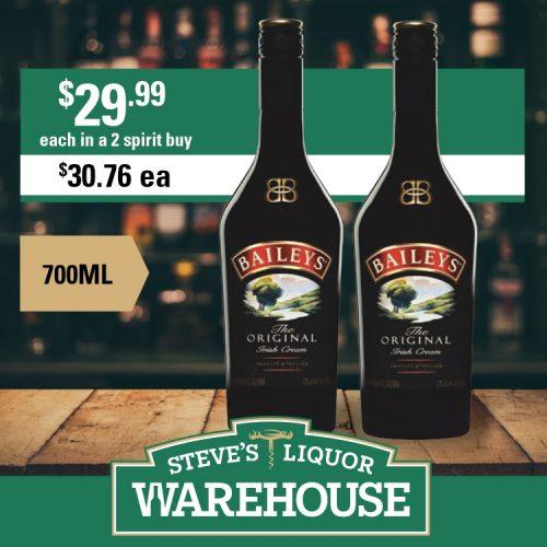 Steves Baileys Original Irish Cream