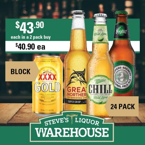 Steves Beer2 Pack Offer