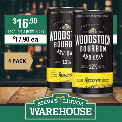 Steves Woodstock Cola Reserve 4pack
