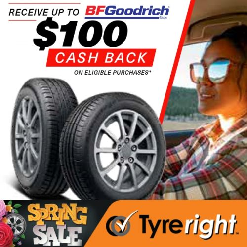 TR BF Goodrich Tyre Offer