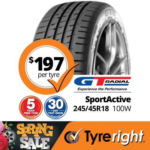 TR GT Radial Sport Active 100 W