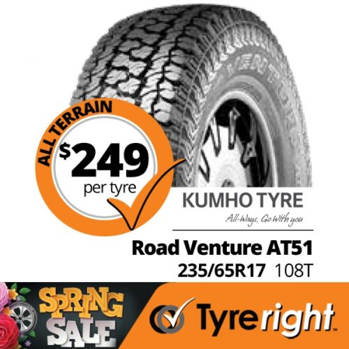 TR Kumho Tyre Road Venture AT51 108 T