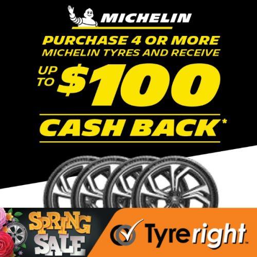 TR Michelin Tyre Offer