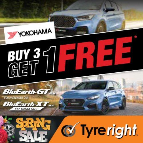 TR Yokohama Tyre Offer