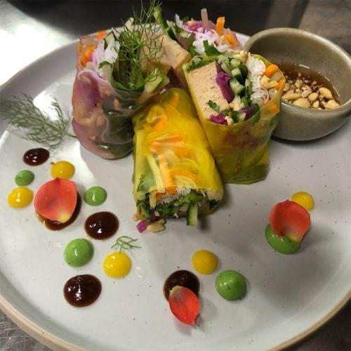 Thai Veggie Hut Food