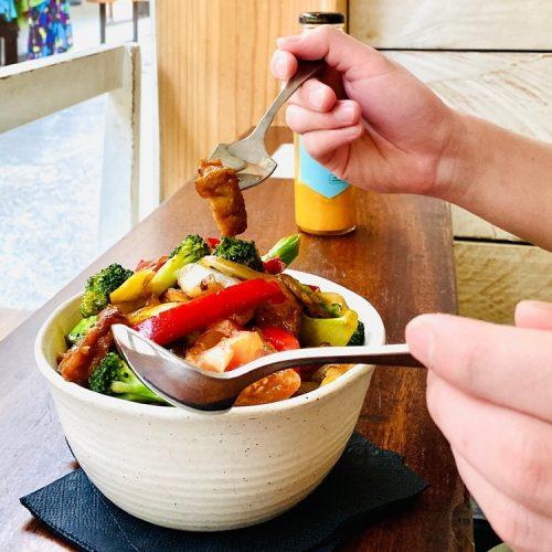 Thai Veggie Hut Food2