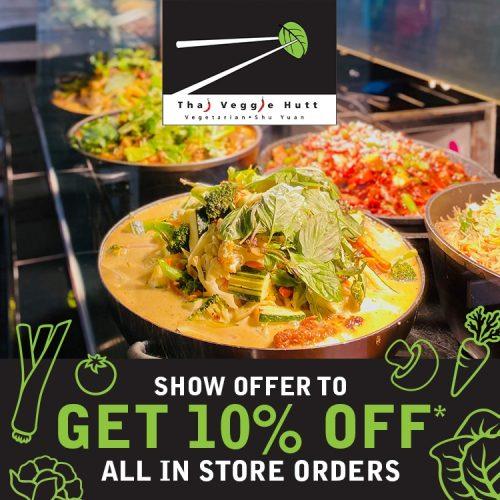 Thai Veggie Hut Offer