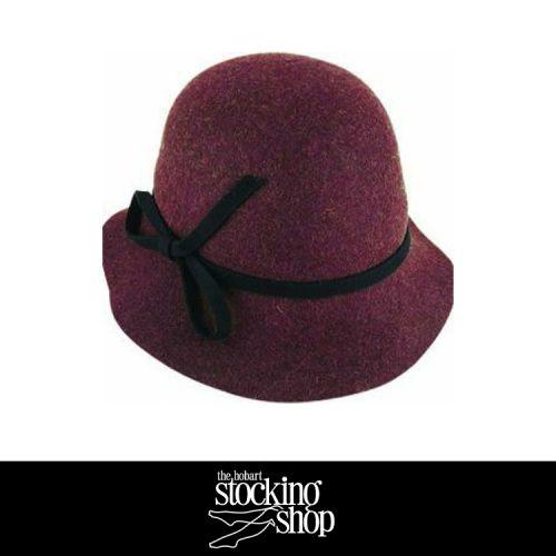 The Stocking Shop Avenel Cloche Hat