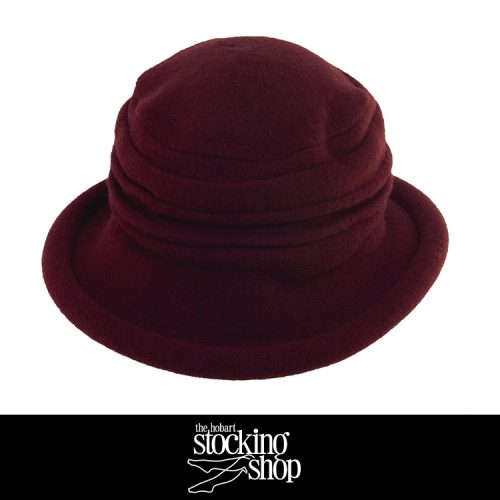 The Stocking Shop Boiled Wool Hat 1