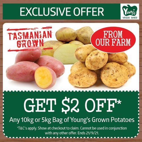 YVS Specials Tasmanian Potatos
