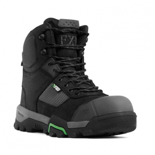 FXD_WB-2_Safety Boot_Black_Front