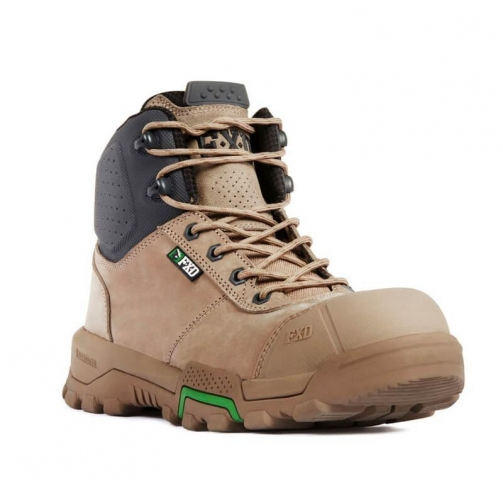 FXD_WB-2_Safety Boot_Stone_Front