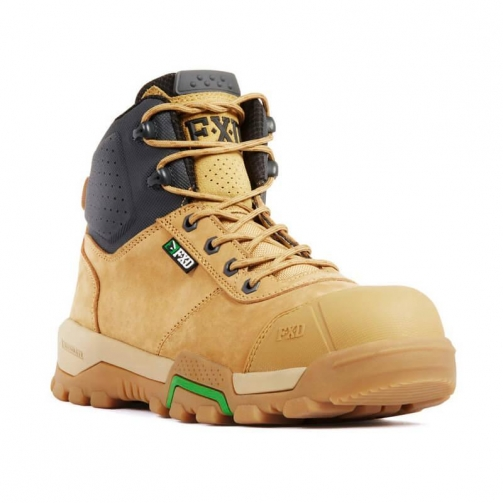 FXD_WB-2_Safety Boot_Wheat_Front