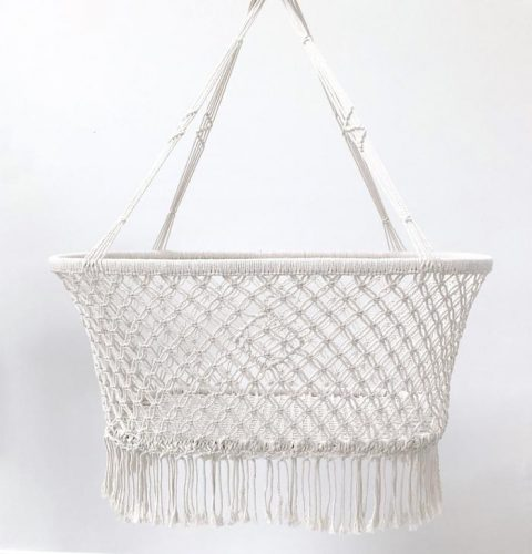 FEATURE_Macrame-Hanging-Baby-Bassinet-White