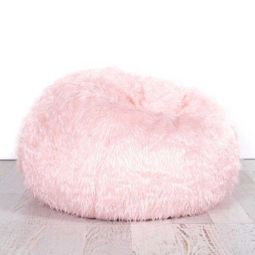IVD539-soft-pink-fur-bean-bag-polo