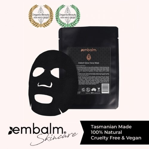 Embalm instant glow mask