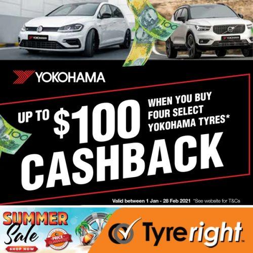 Offer Yokohama cashback