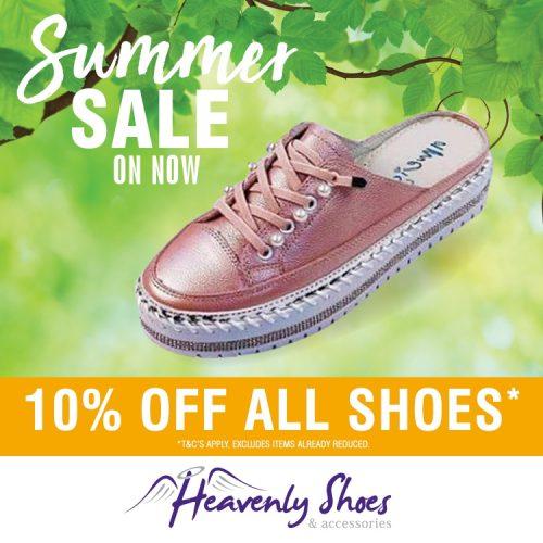 HS Good Pink Sneaker Slide