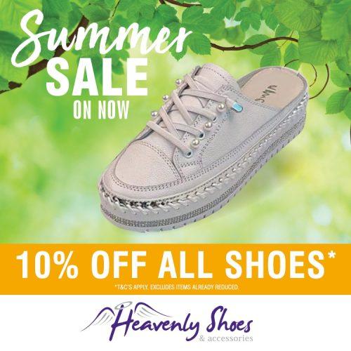 HS Good White Sneaker Slide