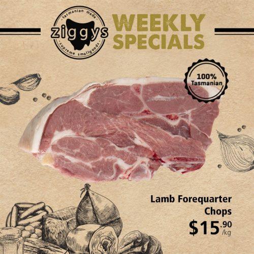 Ziggys Lamb Forequarter Chops 15 90