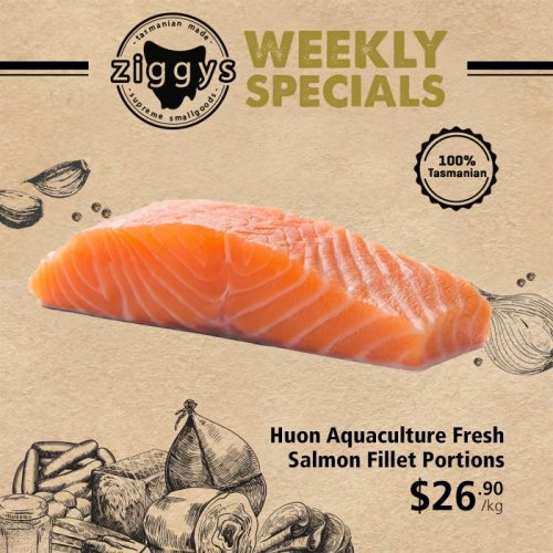 Ziggys Salmon Portions 26 90