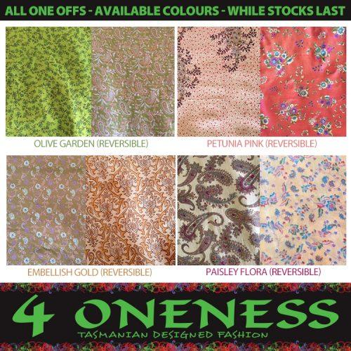 4 Oneness Cinderella L XL Colours