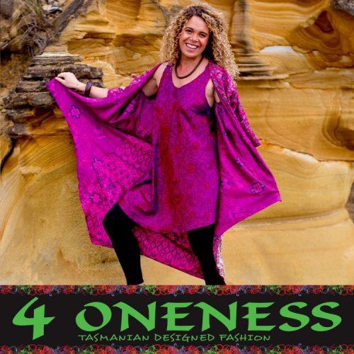 4 Oneness Cinderella Reversible Long Jacket 2