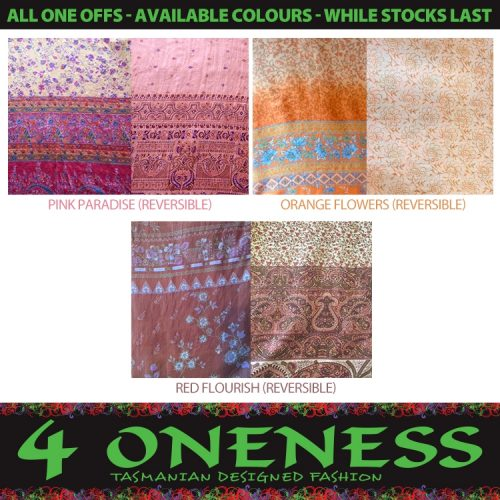 4 Oneness Sizes S M