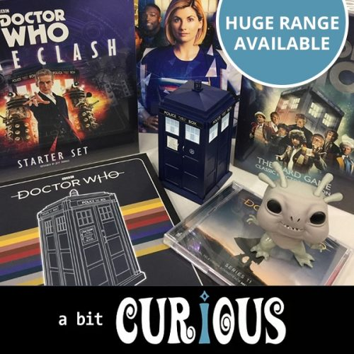 A Bit Curious Dr Who