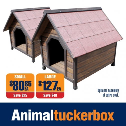 ATB Pitched Roof Dog Kennel