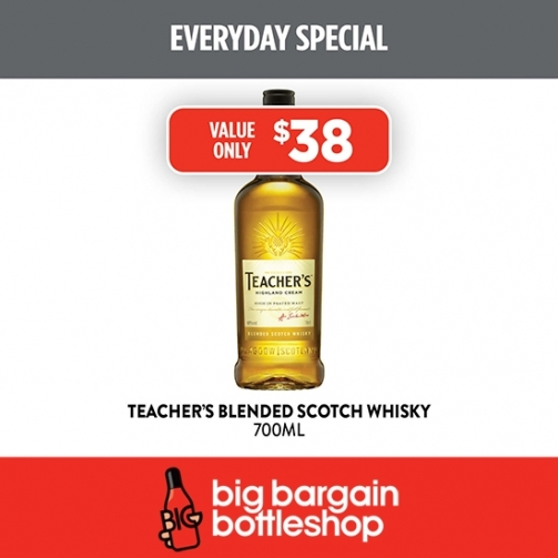 BBB Teachers Blend Scotch Whiskey