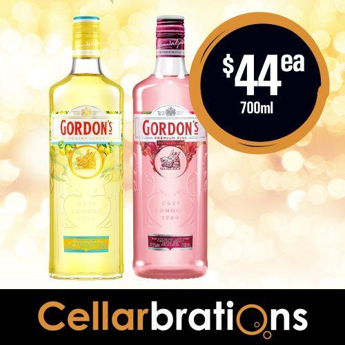 Cellarbrations Gordons Gins 700ml