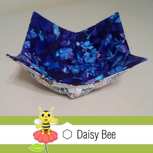 Daisy Bee Bowl Cosies Animals Blue Bird