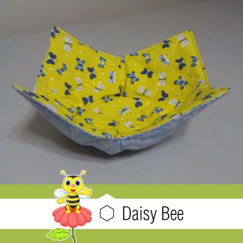 Daisy Bee Bowl Cosies Animals Butterfly