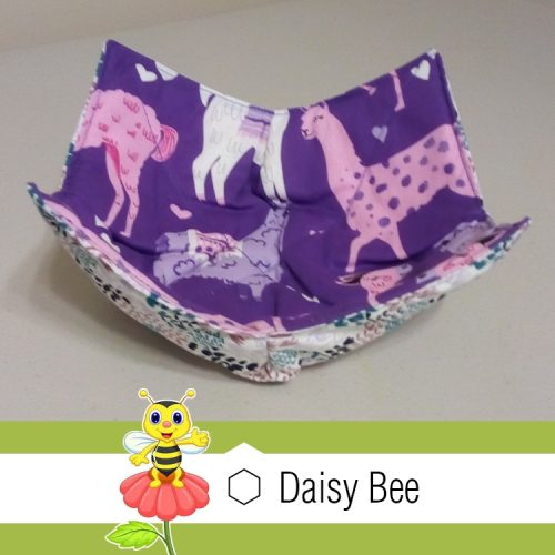 Daisy Bee Bowl Cosies Animals Lama