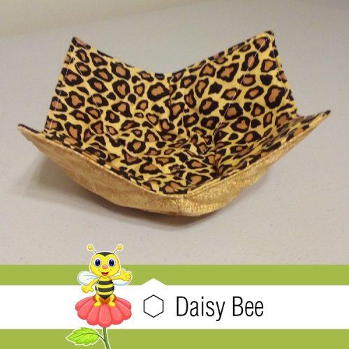Daisy Bee Bowl Cosies Animals Leopard