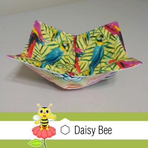 Daisy Bee Bowl Cosies Animals Macaw