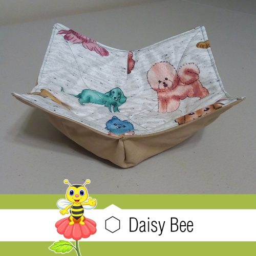 Daisy Bee Bowl Cosies Cats Dogs Rainbow Dogs
