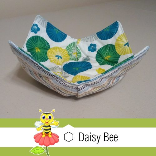 Daisy Bee Bowl Cosies General Pattern2