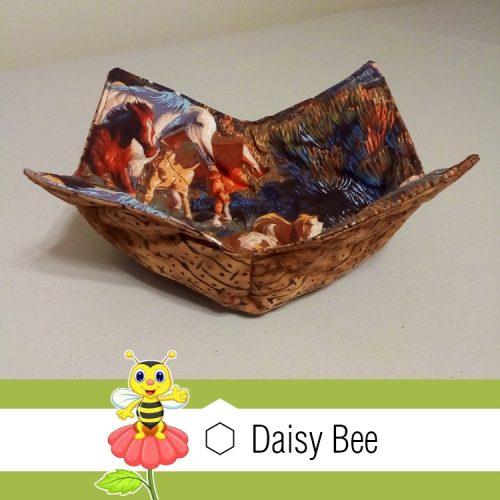 Daisy Bee Bowl Cosies Horses Field