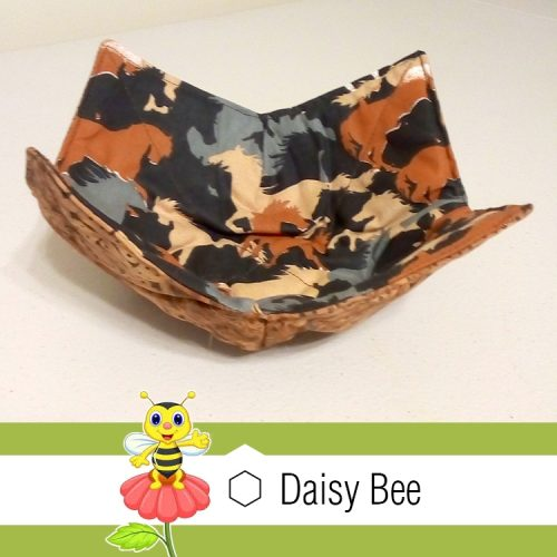 Daisy Bee Bowl Cosies Horses Pattern