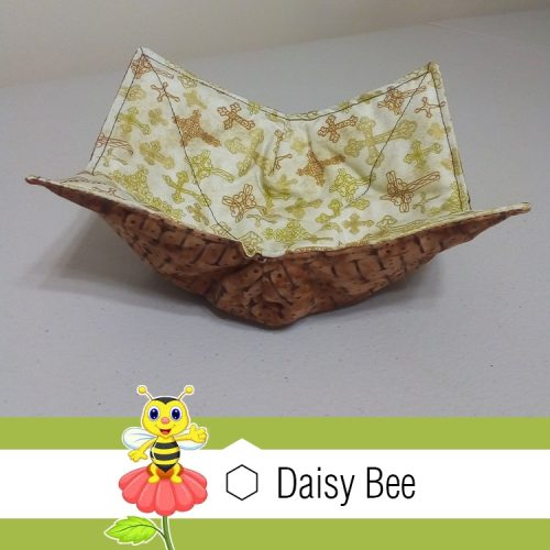 Daisy Bee Bowl Cosies Mexican Crosses