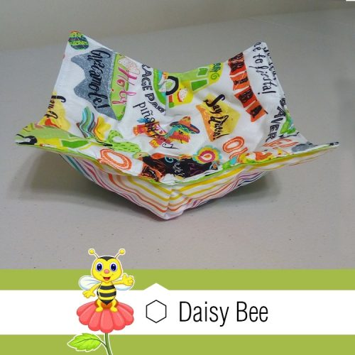 Daisy Bee Bowl Cosies Mexican Pinata