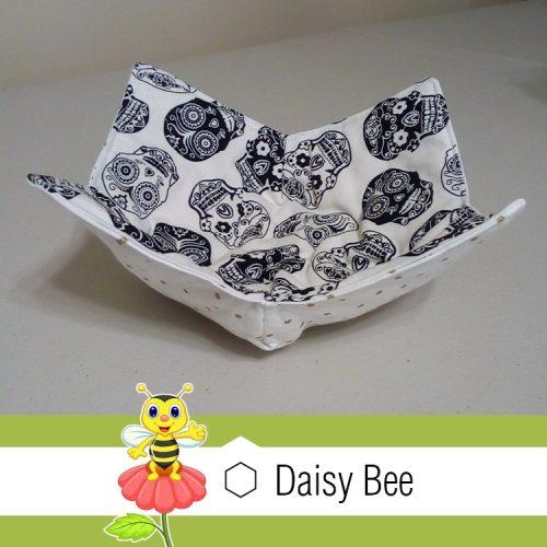 Daisy Bee Bowl Cosies Mexican Skulls