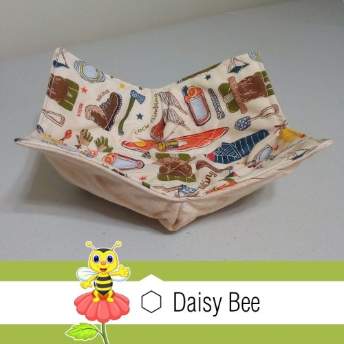 Daisy Bee Bowl Cosies Outdoor Camping