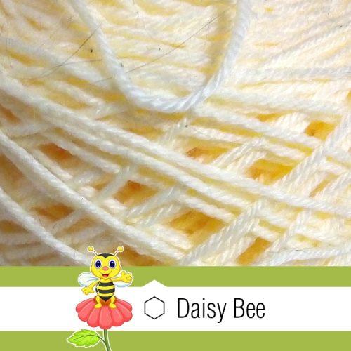 Daisy Bee Twist Turban Cream2